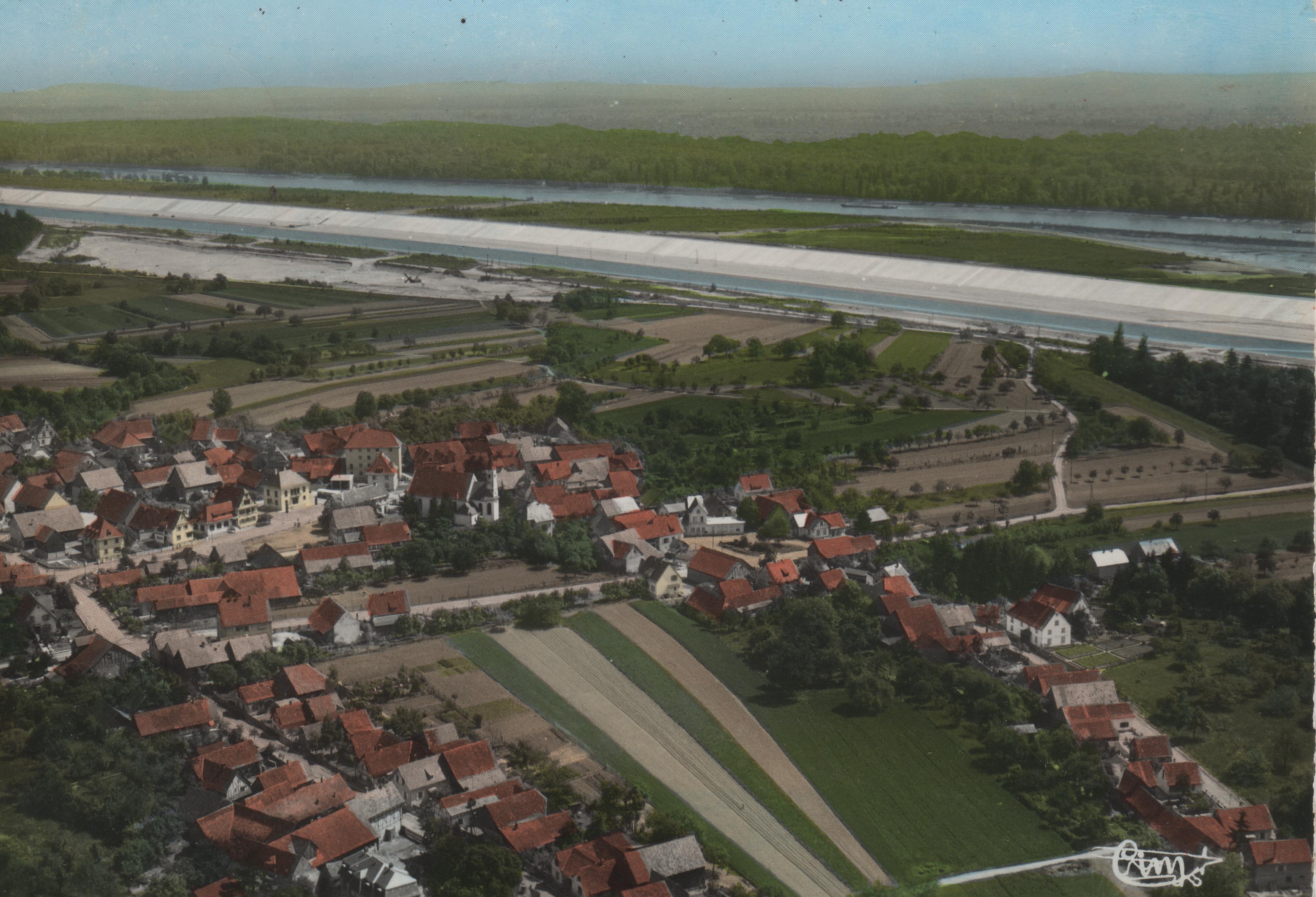 Vue Aérienne 1963